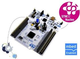 NUCLEO-F411RE, Отладочная плата на базе STM32F411RET6 со встроенным ST-LINK/V2 и поддержкой Arduino