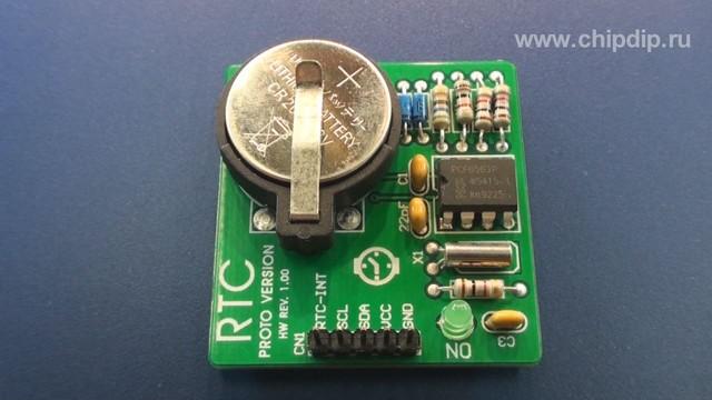 ME-RTC PROTO BOARD - это оценочная плата фирмы Mikroelektronika с часами реального времени на базе микросхемы PCF8583.