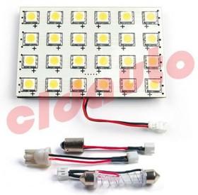 Лампа подсветки салона LED-L23C-24 под цоколь BA9S. W2.1x9.5D. SV8.5 [white], (CLD-L23C-24 [white])