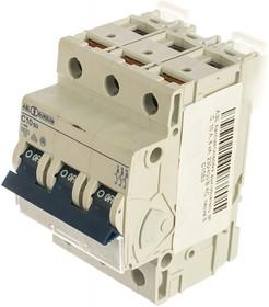 Автоматический выключатель 3P, C, 10 A, 6 кА, 230/400 В AC, серия S C10S3