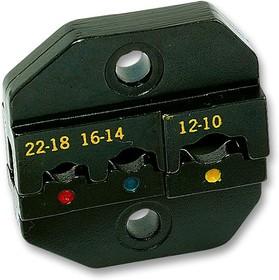 9PK-3003D1, Матрица обжимного инструмента, Изолированные Клеммы 22-10AWG, Обжимной Инструмент