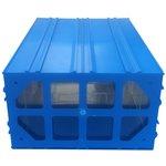 Фото 4/5 Пластиковый короб С-510 синий/прозрачный 260x364x150
