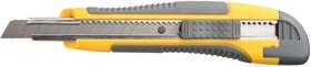 """Фото 1/2 0903, Нож STAYER """"MASTER"""" с выдвижным сегмент. лезвием, пластмас., упроч., 9мм"""