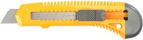 """0911, Нож STAYER """"STANDARD"""" с выдвижным сегмент. лезвием, пластмасс.,18мм"""
