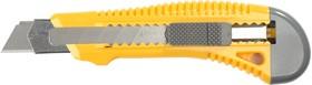 """0913, Нож STAYER """"STANDARD"""" с выдвижным сегмент. лезвием, пластмасс. упроч.,18мм"""
