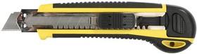 """09165, Набор STAYER Нож """"PROFI"""" с запасными сегмент. лезвиями, 8шт, самофикс., 18мм"""
