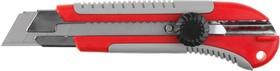 """09175, Нож ЗУБР """"ЭКСПЕРТ"""" с выдвижными сегментированными лезвиями, 25мм"""