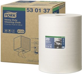 530137, Tork HD Cleaning Cloth Wh