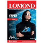 Термотрансфер Lomond 0808421 A4/140г/м2/10л./белый для ...