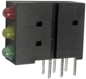 L-4060XHA/1IYGD, Диод светодиод, в корпусе, 1,8мм, THT, 6-12мкд, 8-15мкд, 4-8мкд