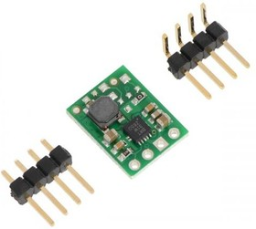 Фото 1/2 Pololu 3.3V Step-Up Voltage Regulator U1V11F3, (2561)