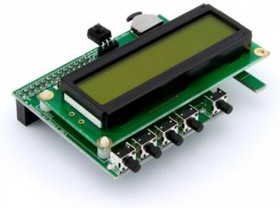 Фото 1/2 PIFACE CONTROL & DISPLAY FOR RASPBERRY Pi, (01X3013)