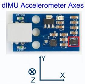 Фото 1/3 dIMU: Inertial Motion Sensor for LEGO MINDSTORMS NXT, (dimu)