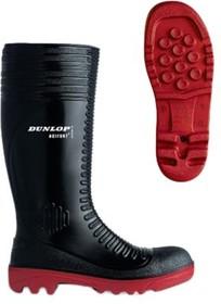 Acifort A252931.42, Black Steel Toe Men Safety Wellingtons, UK 8