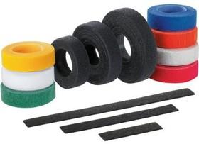 HLS-15R4, Cable Ties, Hook and Loop Nylon/Polyethylene Yellow 222N