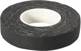 1231-19, ЗУБР 15м, изолента Х/Б, ширина 18мм, 1000 В, повышенная плотность 440 г/м2, черная