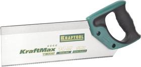 """15228-30, Ножовка с обушком для стусла (пила) KRAFTOOL """"KraftMax"""" TENON, 14 /15 TPI, 300 мм, специальный зуб"""