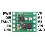 Фото 5/6 MAX14870 Single Brushed DC Motor Driver Carrier, (2961)