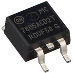 Фото 4/6 MC7805ACD2TG, Стабилизатор напряжения +5В 1.5А, (0°C...+125°C), [D2-PAK]