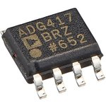 Фото 3/4 ADG417BRZ, Прецизионный Mini-DIP аналоговый переключатель, SPST - NC [SOIC-8]
