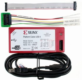 Фото 1/5 HW-USB-II-G, Загрузочный кабель Platform Cable USB II для конфигурирования ПЛИС Xilinx (Model DLC10)
