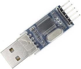 Фото 1/2 PL2303HX MODULE, Преобразователь USB-UART на базе PL2303 с разъемом USB-A