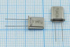 Фото 1/4 кварцевый резонатор 93МГц в миниатюрном корпусе UM1=HC45U, 5-ая гармоника, 93000 \HC45U\\\\РК45[HC45U]\ХСР 5Г
