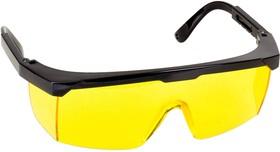 """2-110453, Очки STAYER """"MASTER"""" защитные, желтые, поликарбонатная монолинза, регулируемые по длине дужки"""