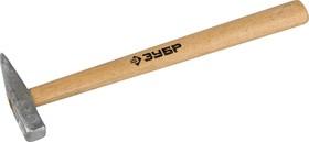 20015-02, Молоток слесарный 200 г с деревянной рукояткой, тип МСЛ, ЗУБР Мастер 20015-02