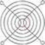 LZ30-4, Защитная решетка вентилятора, Осевыми вентиляторами Ebm Papst, 119 мм, 104.8 мм, Сталь