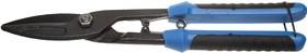 23044-29, СИБИН Ножницы по металлу, прямые удлинённые, с пружиной, 290 мм