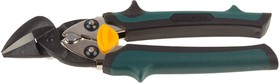 """2326-R, Ножницы-мини по тверд металлу KRAFTOOL """"Uni-Kraft"""" 180мм, правые, с двойн рычаж передач,Cr-MO,двухко"""