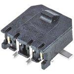 Фото 2/2 43650-0214, Разъем типа провод-плата, 3 мм, 2 контакт(-ов), Штыревой Разъем, Micro-Fit 3.0 43650 Series