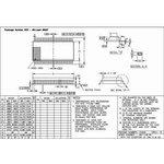 Фото 2/2 HT1621B, Контроллер для LCD дисплея 32 х 4 с управлением памятью, [SSOP-48-300mil]