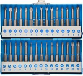 26092-H30, Набор ЗУБР: Биты со специальными профилями, обточенные, хромомолибденовая сталь, 50 мм, 30 предметов
