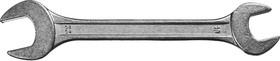 Фото 1/2 27014-19-22, Рожковый гаечный ключ 19 x 22 мм, СИБИН