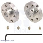 Universal Aluminum Mounting for 6mm, (1083)