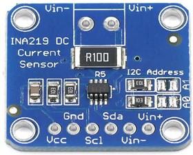 Фото 1/2 Датчик напряжения и тока CJMCU-219 на чипе INA219