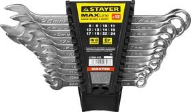 Фото 1/2 27085-H12, Набор комбинированных гаечных ключей 12 шт, 8 - 24 мм, STAYER