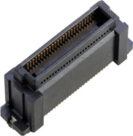 10138650-058202DLF, STACKING CONN, HDR, 50POS, 2ROW, 0.5MM