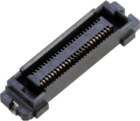 10138651-051202LF, STACKING CONN, RCPT, 50POS, 2ROW, 0.5MM