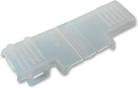 Фото 1/2 CS-63N005, Пылезащитная крышка, LFO, Крышка, Флажковыми ножевыми гнездовыми контактами 6.3мм