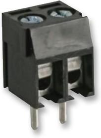 CTB3051/2BK, Клеммная колодка типа провод к плате, 3.5 мм, 2 вывод(-ов), 1 мм², Винт