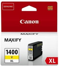 9204B001, Картридж PGI-1400XL Y жёлтый для MAXIFY МВ2040 и МВ2340
