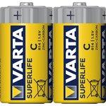 Батарейка VARTA SUPERLIFE C пленка 2 (упаковка из 2)