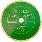 Диск алмазный CERAMICS, MARBLE сплошной керамика, мрамор 230мм/25,4 20000231