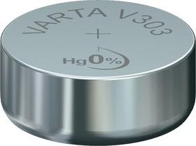 Фото 1/2 303 (V303/SR44), Элемент питания оксид серебра 1.55В
