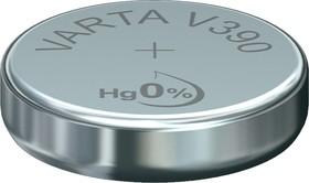 Фото 1/2 390(V390/SR54), Элемент питания оксид серебра 1.55В
