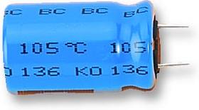 Фото 1/2 MAL213666332E3, Электролитический конденсатор, 3300 мкФ, 25 В, Серия 136 RVI, ± 20%, Радиальные Выводы