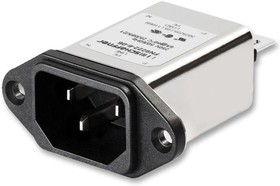 Фото 1/2 FN9222 - 3 -06, Power Entry Module Filtered M 3 POS 250VAC 3A ST 1 Port
